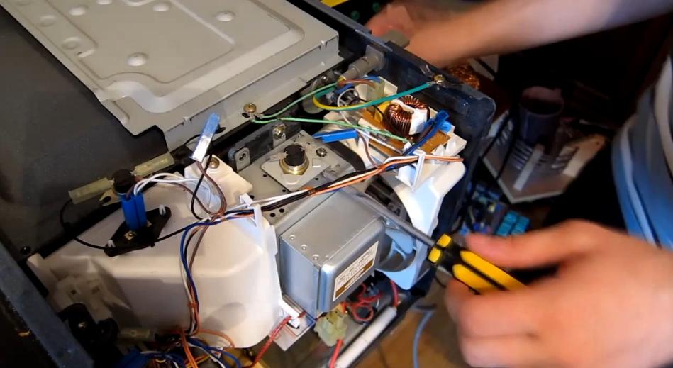Ремонт своими руками микроволновая печь samsung