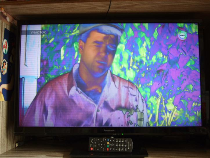 Картинка на телевизоре вверх ногами